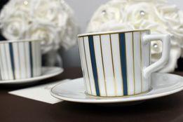 Komplet do espresso - nowa, oryginalna, porcelana MEISSEN, Miśnia