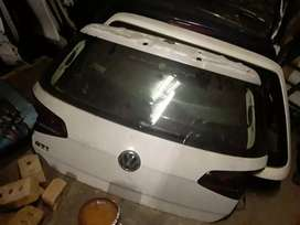 Golf7 tailgate complete vw