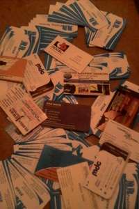 Image of Business cards printing services