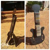 Image of Cd stand guitar shaped