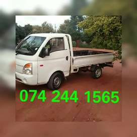 Moving truck and bakkie for hire