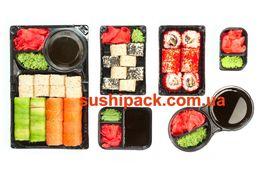 Упаковка для суши, соусники (одноразовая посуда, контейнер ) В наличии