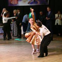 Золотой рейтинг бейсик платье для бальных танцев