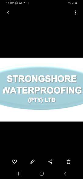Waterproofing services available