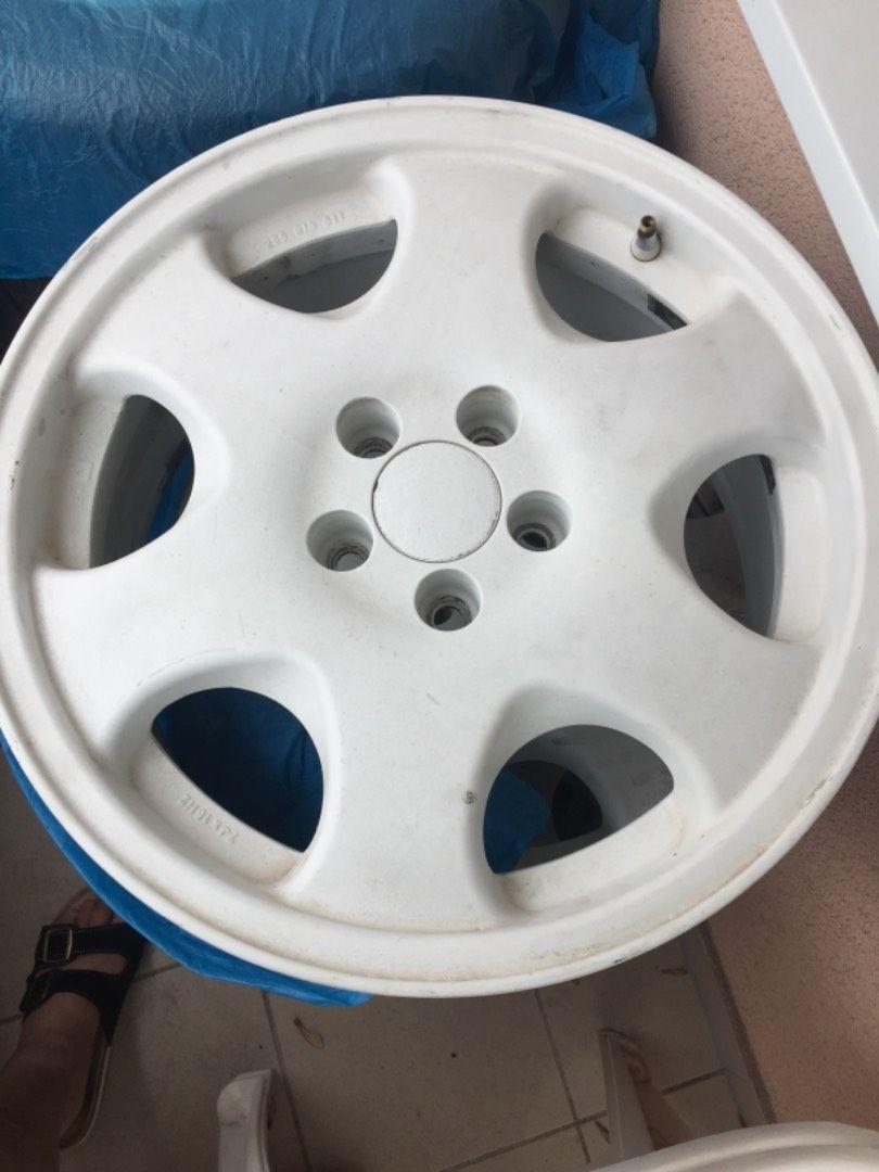 ALU disky 5•100 na pneu 205/45/Ř 17 0