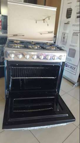 New Zero 6 Burner fully gas stove with gas oven