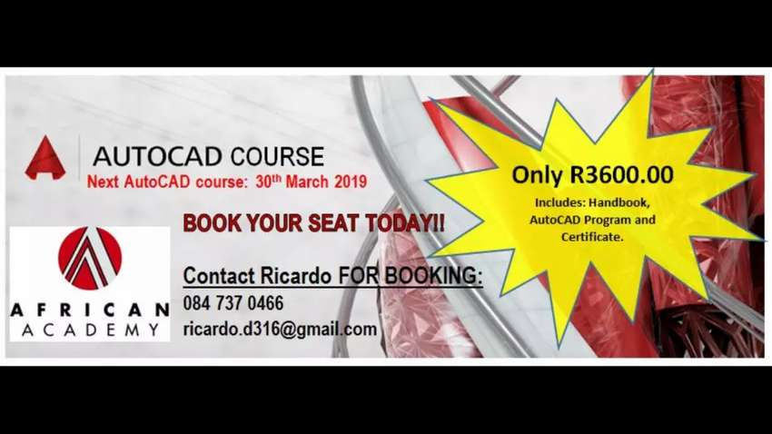 AutoCAD course 30th March 2019 0