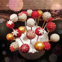 Кейк-попсы (Cake pops) сладкие подарки на Николая и Новый год