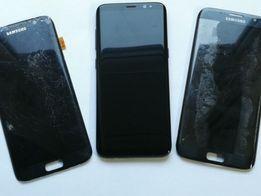 Wymiana wyświetlacza szybki Samsung S8, S8+ S7 edge S6 edge