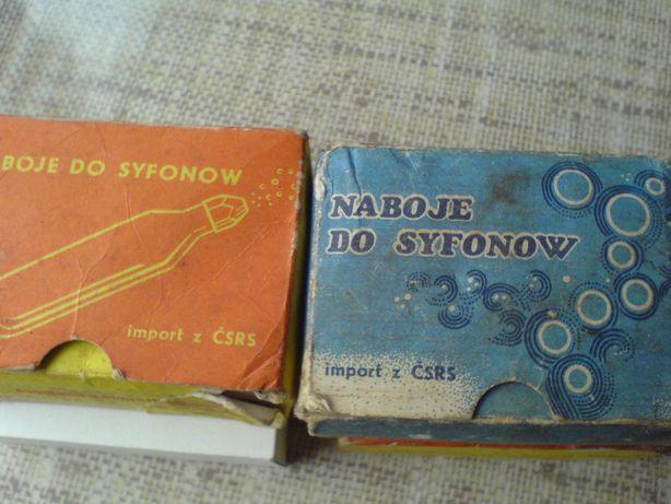 Naboje CO2 do syfonu vintage PRL Mielec - image 4