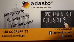Język niemiecki korepetycje