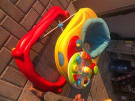 Baby Walker and car seat