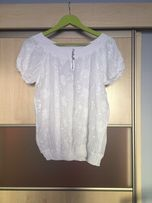 Bluzka nowa biala rozmiar l/xl