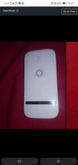 Vodafone mobile wifi router, takes all networks