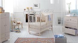 Кроватка, шкафчик и комод Baby Expert б/у