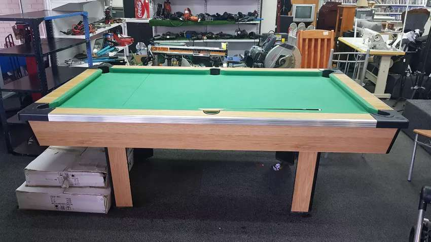 POOL TABLE. NOT COIN OPERATED 0