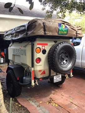 4x4 Mission Camping Trailer