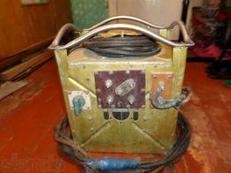 сварочный апарат 220 Вт б/у с проводами