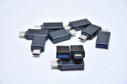 Type C to USB A OTG Переходник для подключения флешки к телефону НОВОЕ