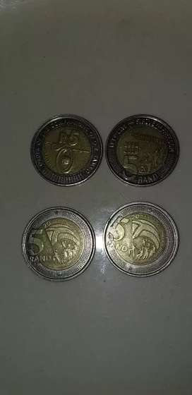 Mandela and Other valuable coins