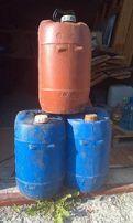 Продам канистры полиэтиленовые 30 л бу