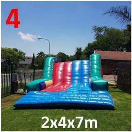 Gladiator jumping castle for sale without motor.