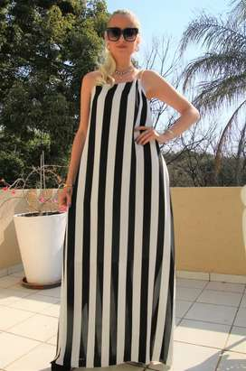 Goargeous striped summer maxi Gown!!
