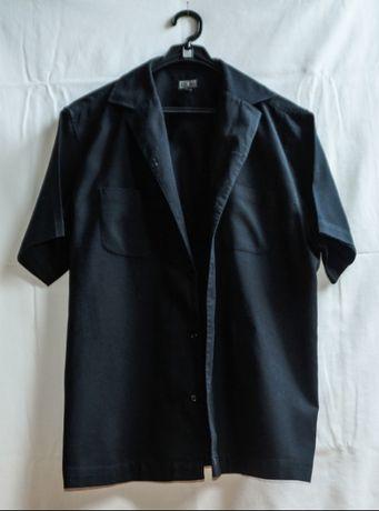 Cottonfield - bawełniana koszula z krótkim rękawem, na guziki, rozm. L Toruń - image 1