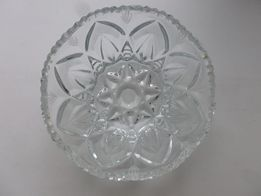 хрустальная ваза ладья салатница
