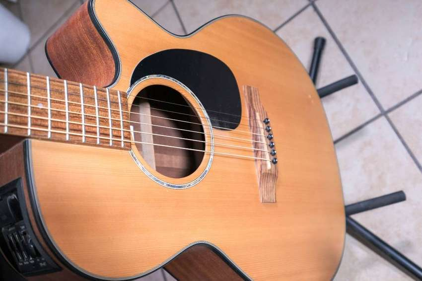 Takamine G-Series Acoustic Electric Guitar plus stand for sale 0