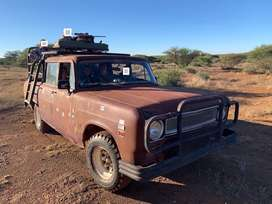 International Hunting Bakkie