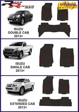 Isuzu single cab, double cab and extended cab, Toyota Hilux and Ford R