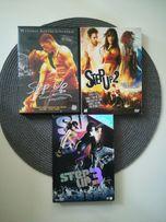 Filmy CD Step Up wydanie kolekcjonerskie.