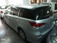 Toyota Wish Black, silver n white all KCP number 0