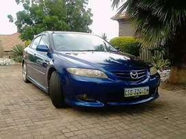 Accident damaged 2003 Mazda6 for sale.