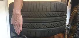 BMW X5 TYRES AND RIM