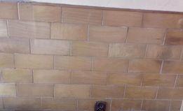 Ręcznie wykonane deseczki z drewna na ścianę boazeria ok 13 mkw
