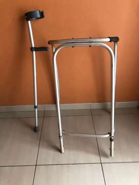 Walker and walking crutches / aids
