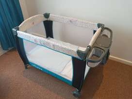 For sale Bounce baby camp cot