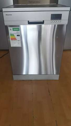 Hisense H13DESS 13 Place Aluminium Dishwasher(Demo Unit)