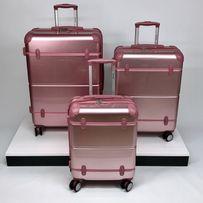 Дорожный чемодан из поликарбоната Suitcase на 4 калесах валіза дорожня