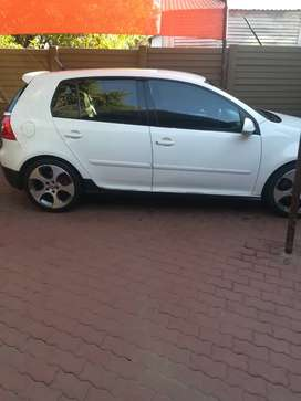 Golf 5 GTI 2.0 litre turbocharged 5 door had it for 2years