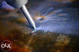 Cięcie WODĄ płytek Obróbka metali CNC, Spawanie, Toczenie, Frezowanie