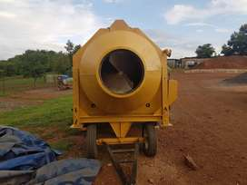 TURNER MORRIS CONCRETE MIXER AND DUMPER