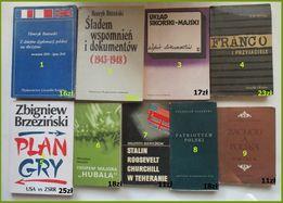 Wojna,historia,dyplomacja/Piasecki,Stalin,Hubal,Brzeziński,Franco