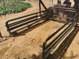 Am selling cattle rails and canvas... Price slightly negotiable
