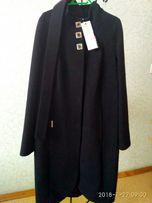 Пальто женское кашемировое 44р