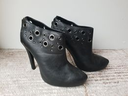 Buty 36 czarne j.nowe