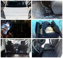 Установка/замена/ремонт сидений/сидушек на автомобиль/рихтовка/сварка