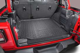 Rear Trunk Mat - with black